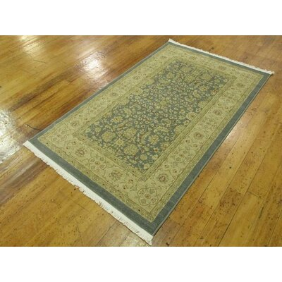 Willow Blue/Beige Area Rug Rug Size: Rectangle 8 x 112