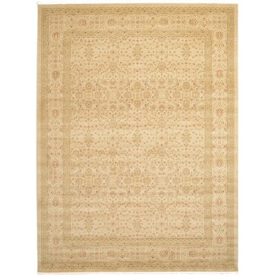Willow Cream Area Rug Rug Size: 5 x 8