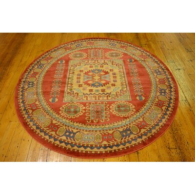 Zoey Area Rug Rug Size: Round 6
