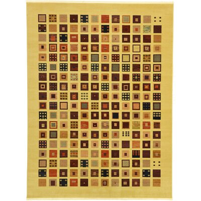 Soriano Beige Area Rug Rug Size: Rectangle 106 x 165