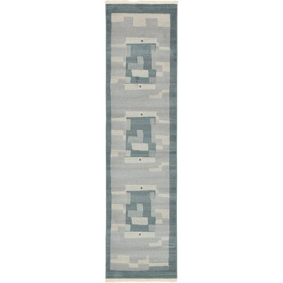 Virginia Gray Area Rug Rug Size: Runner 27 x 10