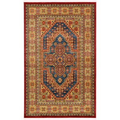 Zoey Navy Blue Area Rug Rug Size: 910 x 13