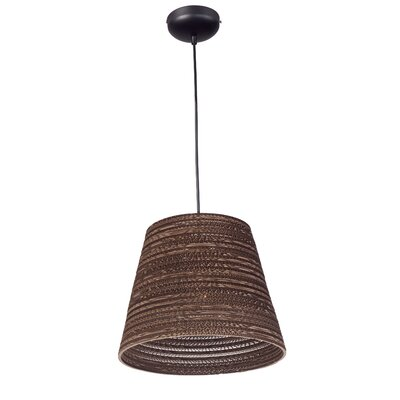 Ald 1-Light Mini Pendant Size: 134 H x 17.25 W x 17.25 D