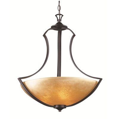 Awrad 3-Light Bowl Pendant