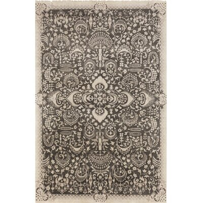 Felice Hand-Knotted Beige Area Rug Rug Size: Rectangle 2 x 3
