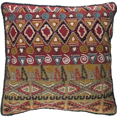Nyah Throw Pillow Size: 22 H x 22 W x 4 D, Fill Material: Polyester