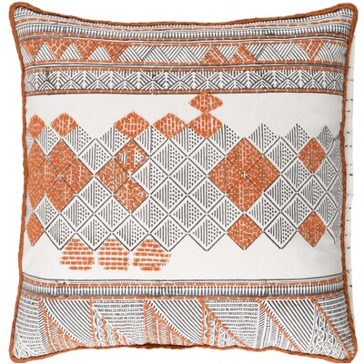 Andres Cotton Throw Pillow Size: 18 H x 18 W x 4 D