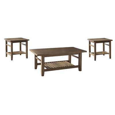 Avalon 3 Piece Coffee Table Set