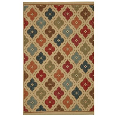 Taren Jewel Medallion Kaleidoscope Area Rug Rug Size: Rectangle 5 x 7