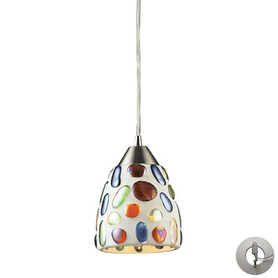 Adalheida 1-Light LED Mini Pendant
