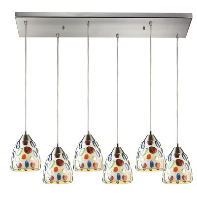 Adalheida 6-Light Kitchen Island Pendant