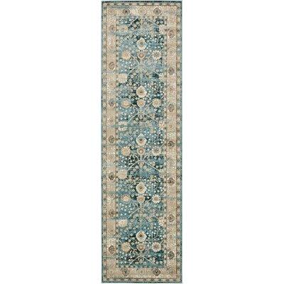 Miara Dark Blue Area Rug Rug Size: 7 x 10