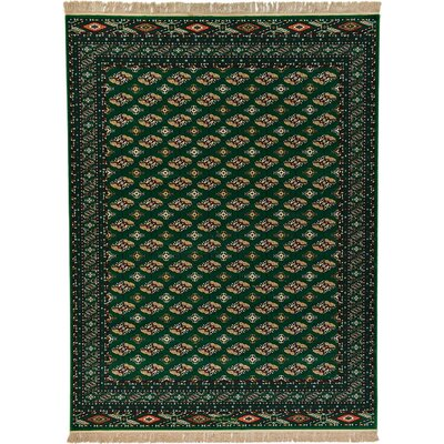Kowloon Green Area Rug Rug Size: 4 x 6
