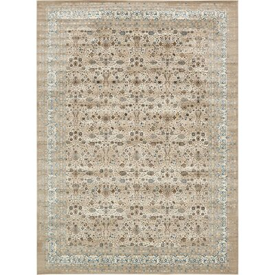 Miara Cream Area Rug Rug Size: Rectangle 7 x 10