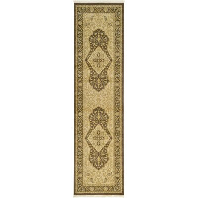 Jamar Brown Oriental Area Rug Rug Size: Rectangle 8 x 11