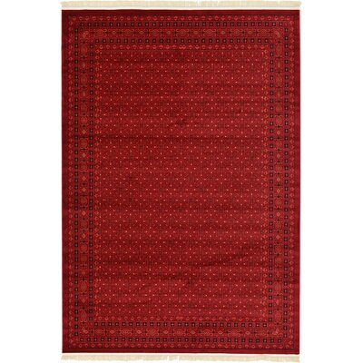 Kowloon Red Area Rug Rug Size: 4 x 6