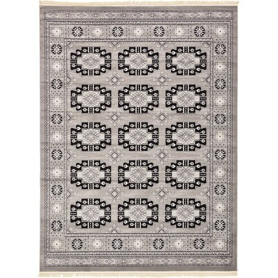 Ivette Gray Area Rug Rug Size: Rectangle 5 x 8