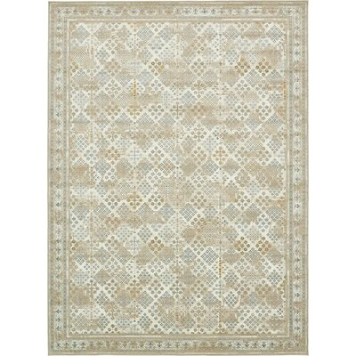 Hurst Beige Area Rug Rug Size: Rectangle 102 x 135