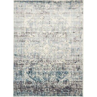 Jayleen Blue Tibetan Area Rug Rug Size: 5 x 8
