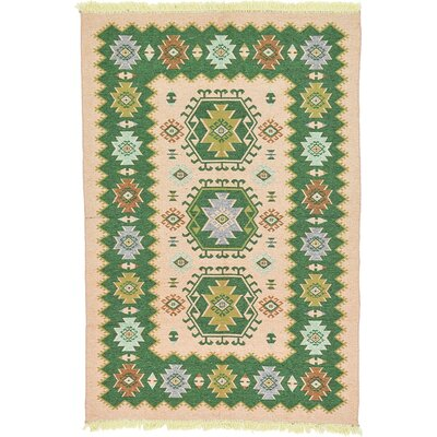 Izidora Traditional Rectangle Cream Southwestern Area Rug Rug Size: 66 x 96