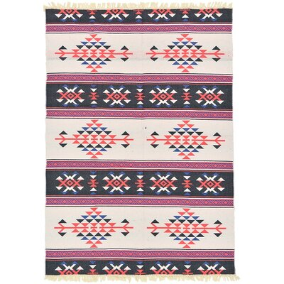 St Lawrence White Area Rug Rug Size: Runner 28 x 95
