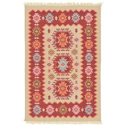 St Lawrence Cream Area Rug Rug Size: 66 x 96