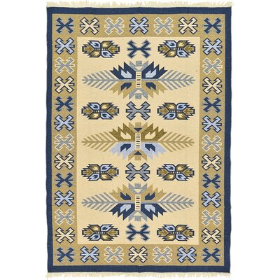 Izidora Traditional Cream Southwestern Area Rug Rug Size: Rectangle 67 x 93