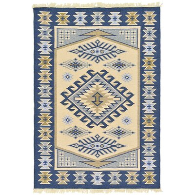 St Lawrence Cream Area Rug Rug Size: 66 x 94