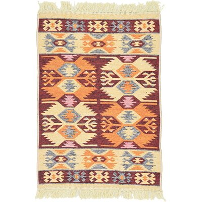 St Lawrence Cream Area Rug Rug Size: 66 x 93