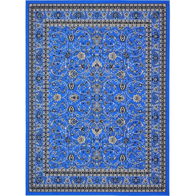 Southern Dark Blue Area Rug Rug Size: Square 8