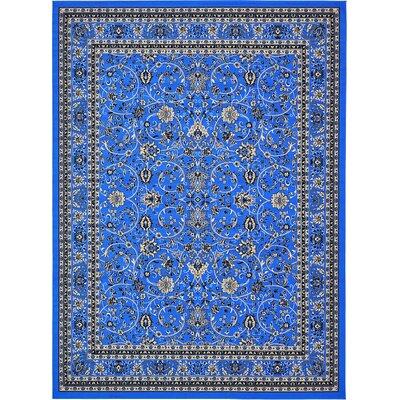 Southern Dark Blue Area Rug Rug Size: 9 x 12