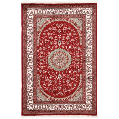 Snows Red Area Rug