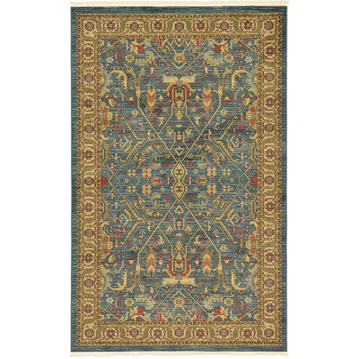 Jana Navy Blue Area Rug