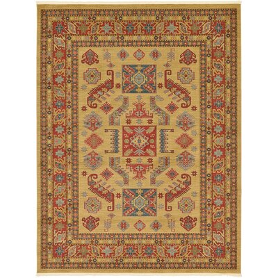 Valley Beige Area Rug Rug Size: 12 x 16