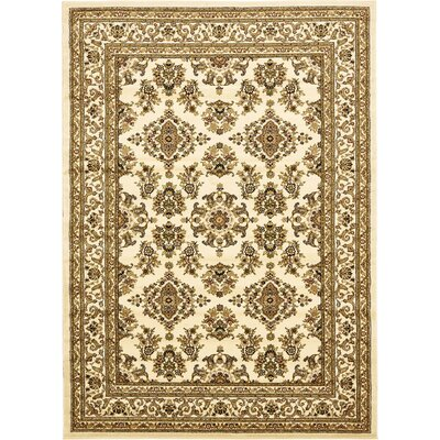 Snows Cream Area Rug Rug Size: 7 x 10