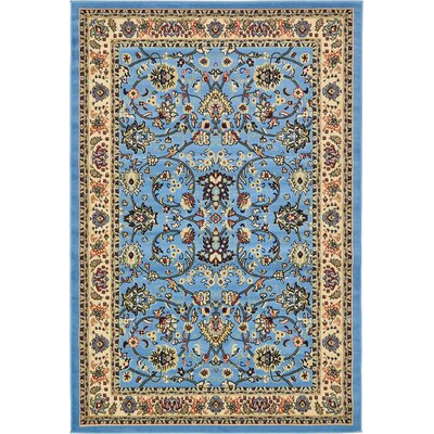 Southern Light Blue Area Rug Rug Size: 6 x 9