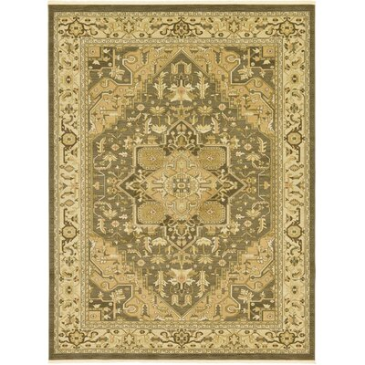 Sina Light Brown Area Rug Rug Size: 5 x 8