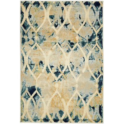 Jani Beige Area Rug Rug Size: Rectangle 5 x 8