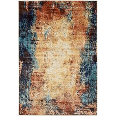 Sage Brick Red Area Rug Rug Size: 8 x 10