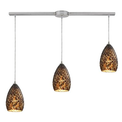 Fatouaki 3-Light Kitchen Island Pendant