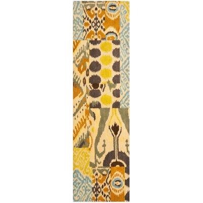 Kotomo Hand-Tufted Beige Area Rug