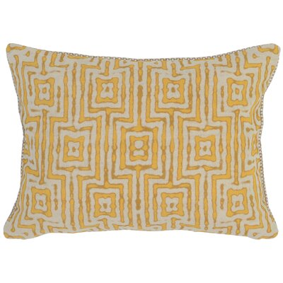 Canala Lumbar Pillow Color: Yellow