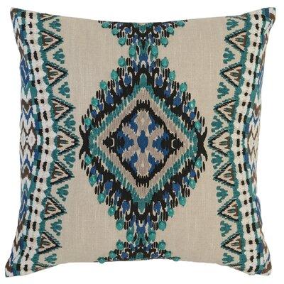 Castlereagh Cotton Throw Pillow Color: Green