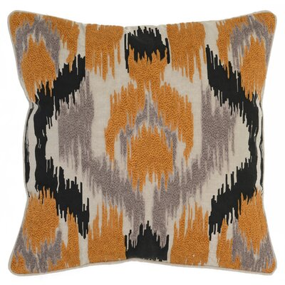 Vanna Throw Pillow Color: Orange
