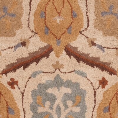 Keefer Brown Floral Area Rug Rug Size: Square 99