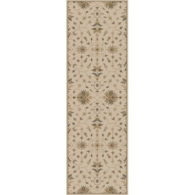 Topaz Beige Area Rug Rug Size: Rectangle 5 x 8