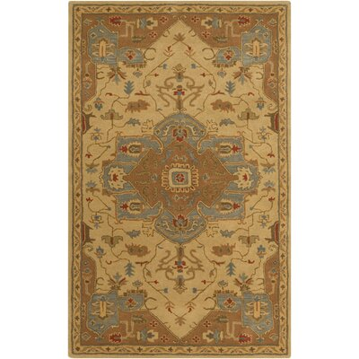Topaz Gold Area Rug Rug Size: Rectangle 5 x 8