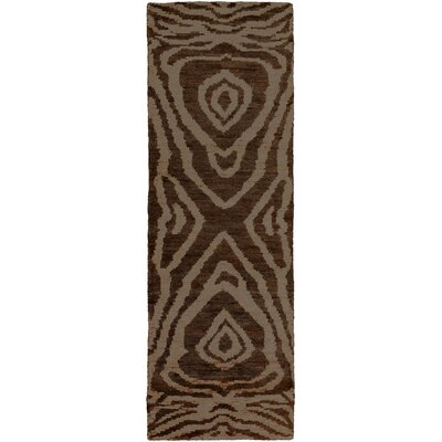 Alexa Charcoal Area Rug Rug Size: Rectangle 5 x 8