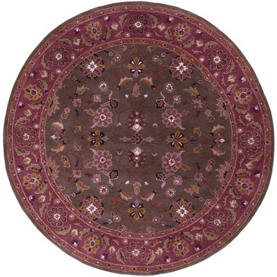 Topaz Chocolate/Eggplant Area Rug Rug Size: Rectangle 10 x 14