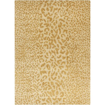 Kampen Hand-Tufted Yellow Area Rug